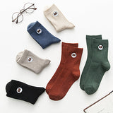 Women Socks Fashion Embroidery Dog Men Socks Soft Comfortable for Dog Lovers
