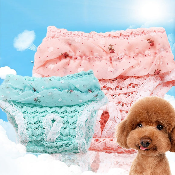 Female Dog Diaper Comfortable Sanitary Physiological Pants