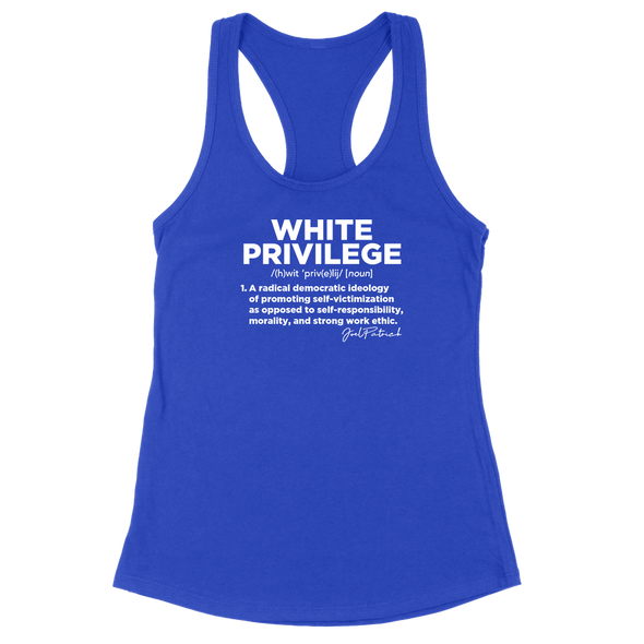 White Privilege Definition Womens Apparel