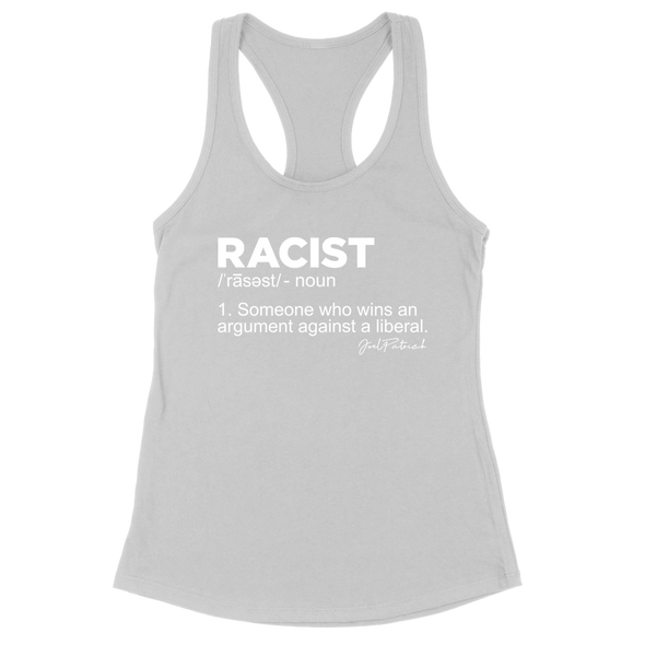Racist Definition Women's Apparel