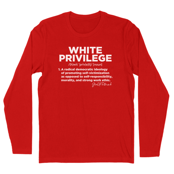 White Privilege Definition Mens Apparel