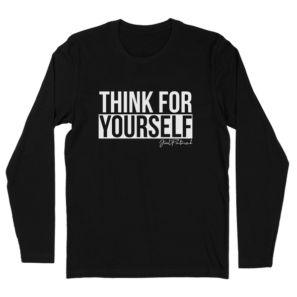 Think For Yourself Mens Apparel