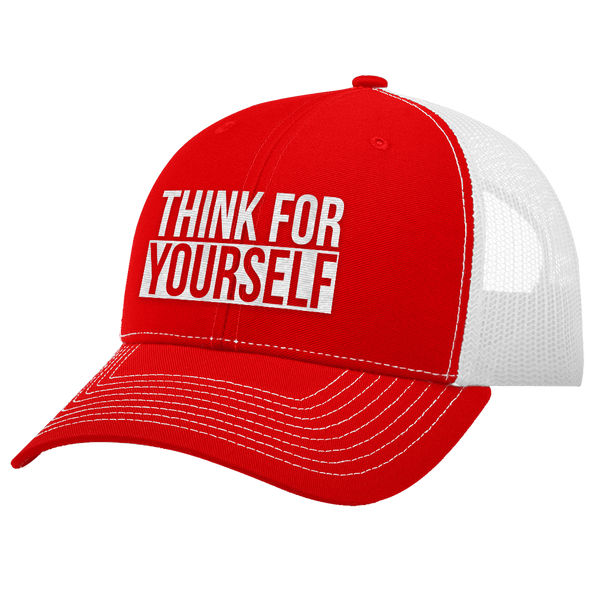 Think For Yourself Trucker Hat