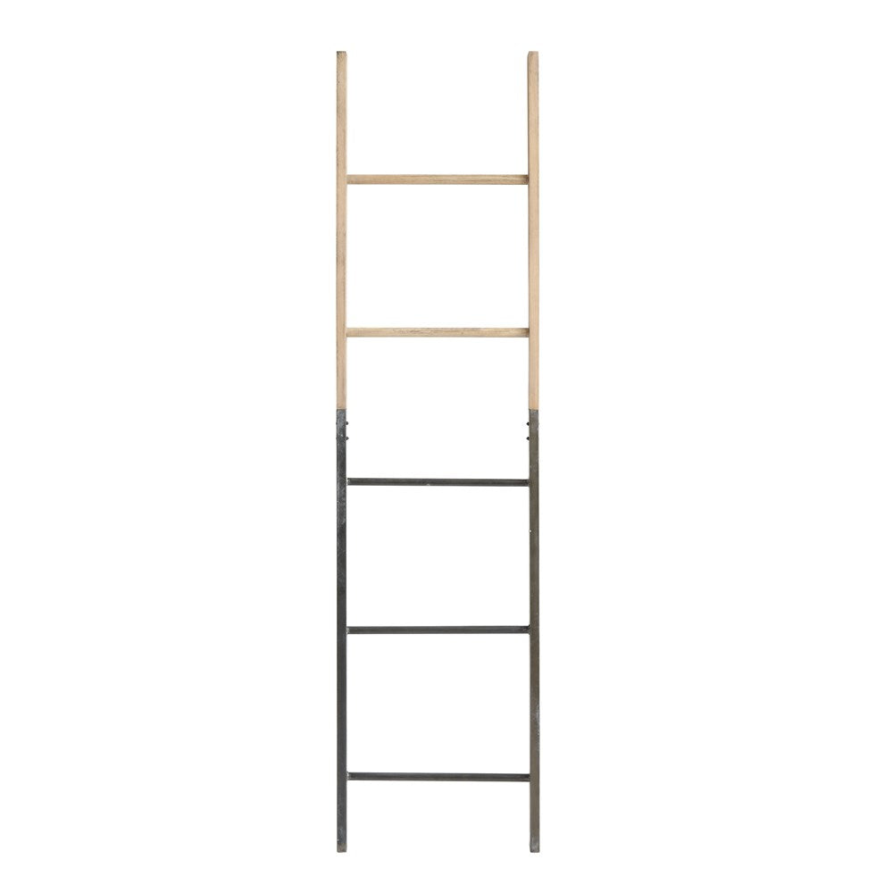 Decorative Wood And Metal Ladder