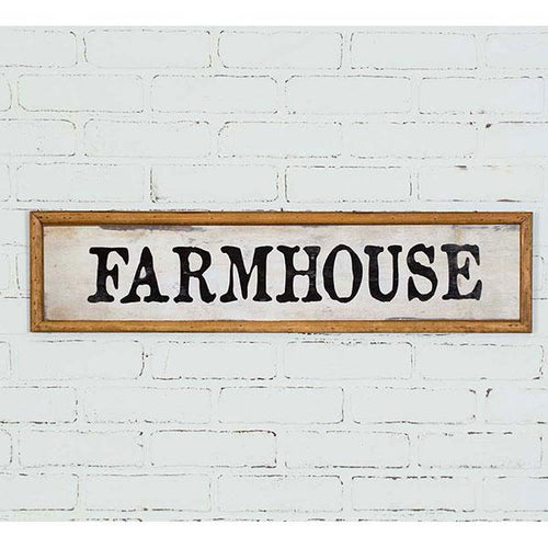 Farmhouse Wood Wall Sign CTW Home