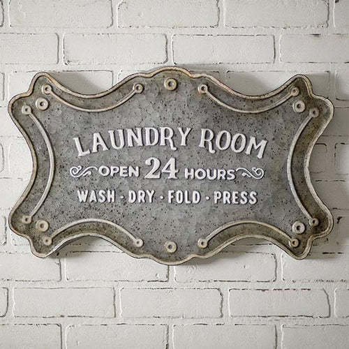 Laundry Room Metal Sign CTW Home
