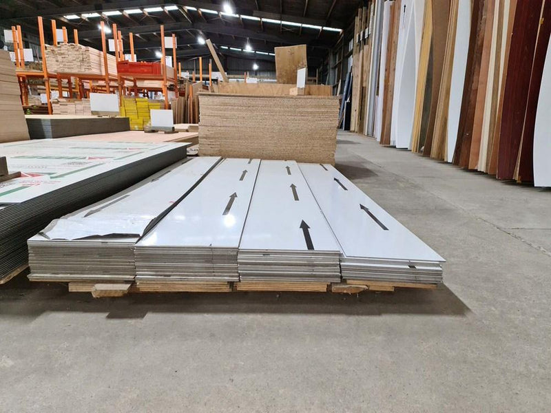 Wetwall ACP 2400x300x4.75MM WHITE OFFCUTS 2nds - Renovation Warehouse