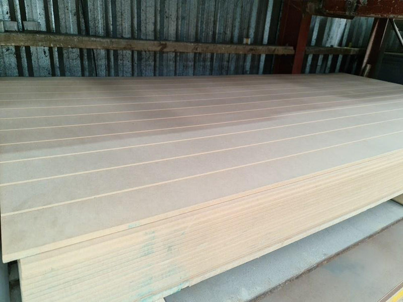 MDF 2440x1200x9mm Grooved Utility - Renovation Warehouse
