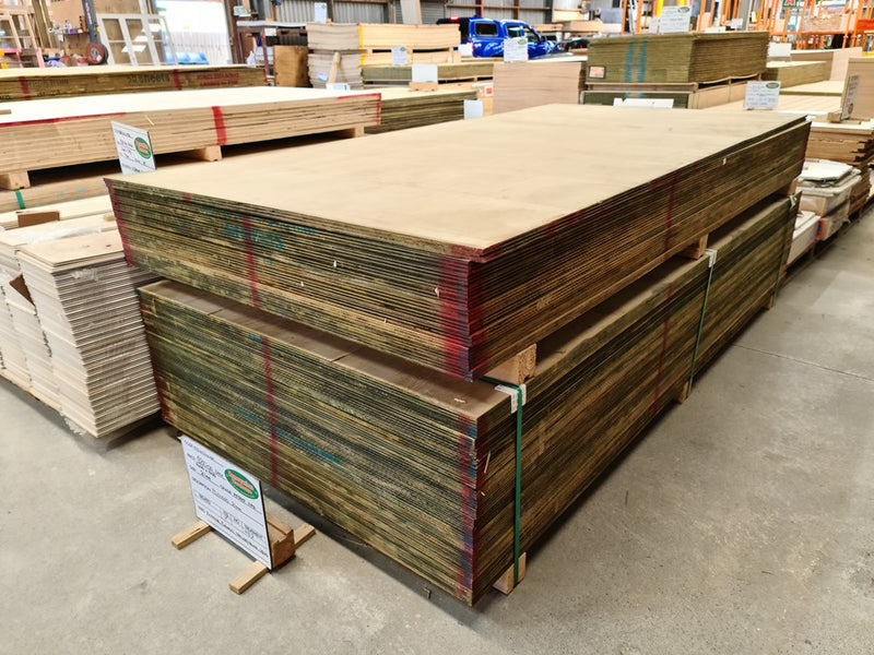 Plywood 2400x1200x21mm H3.2 REJECT - Renovation Warehouse