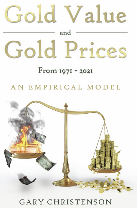 Gold Value and Gold Prices From 1971 - 2021 (paperback)