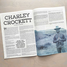 Load image into Gallery viewer, Charley Crockett feature spread in the 11th Hour magazine