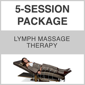 5 SESSION PACKAGE - Lymph Massage