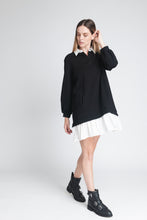 Load image into Gallery viewer, Shirt Style Sweatshirt Dress - Elrosé Store