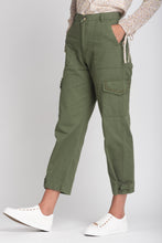 Load image into Gallery viewer, Cargo Trousers With Adjustable Ankle - Elrosé Store