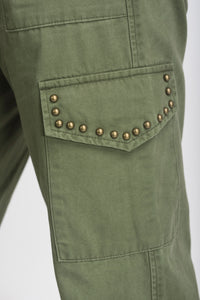 Cargo Trousers With Adjustable Ankle - Elrosé Store