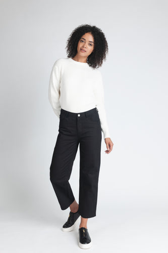 Signature High Waist Barrel Leg Jean - Elrosé Store