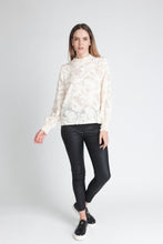 Load image into Gallery viewer, Textured High Neck Blouse - Elrosé Store