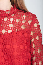 Load image into Gallery viewer, Lace Feminine Blouse