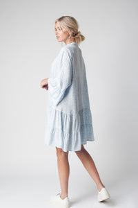 Pale Blue Day Dress