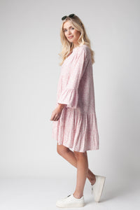 Pale Pink Day Dress