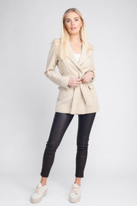 Sophisticated Belted Blazer