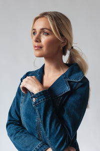 Essential Fitted Denim Jacket