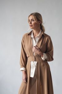 Sophisticated Midi Overshirt