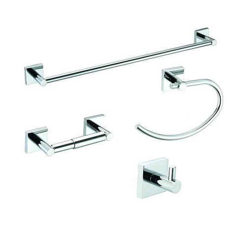 "Pamex Vina Collection Set with 24"" Towel Bar - Nuk3y"