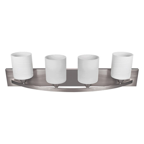 Nuk3y Modern Bathroom Vanity Light Fixture with Light Globe - Nuk3y