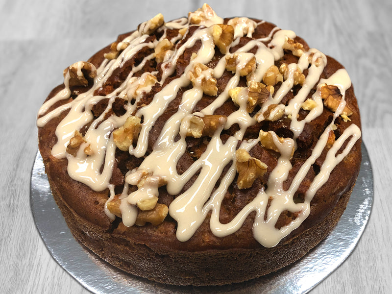 Apple & Walnut Cake