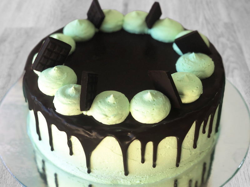 Choc Mint Celebration Cake (GF)