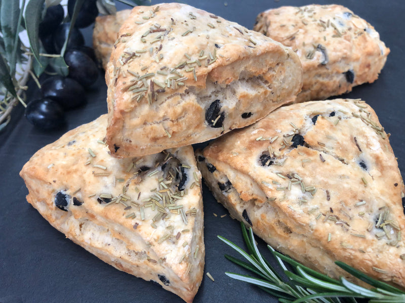 Olive & Rosemary Scones 4 Pack
