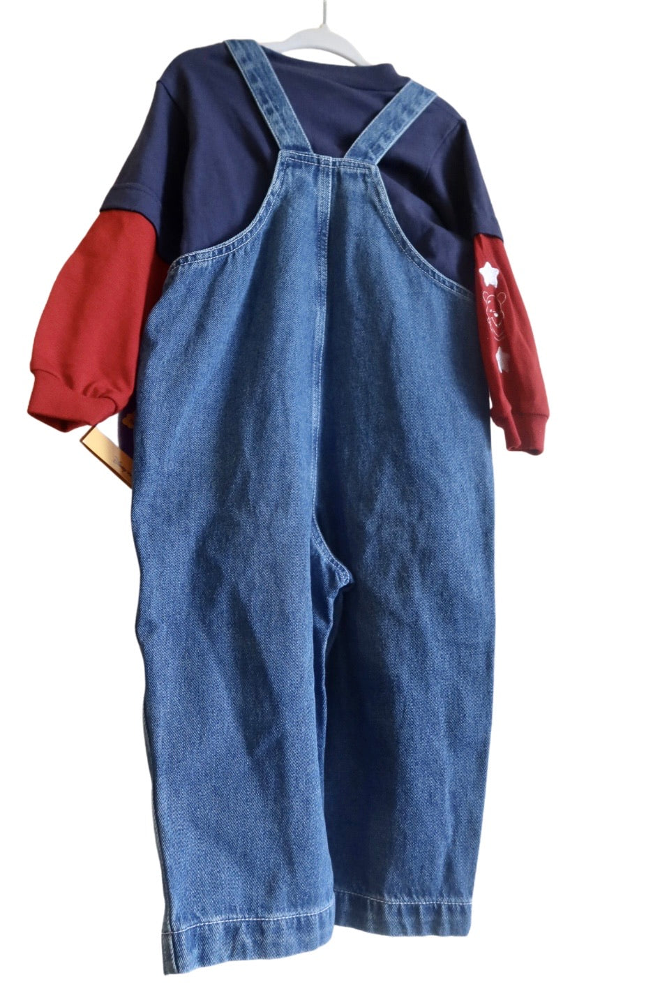VNTG Pooh overalls