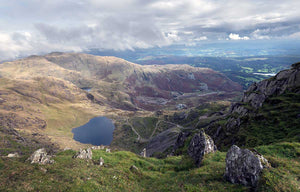 Photo of Coniston from The Old Man of Coniston