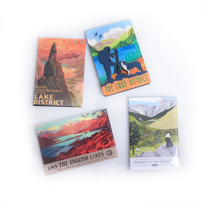 Lake District shop gifts 4 fridge magnets