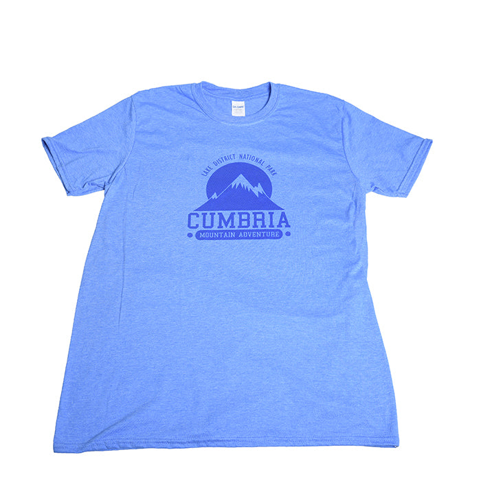 Lake District Shop Gifts blue tshirt