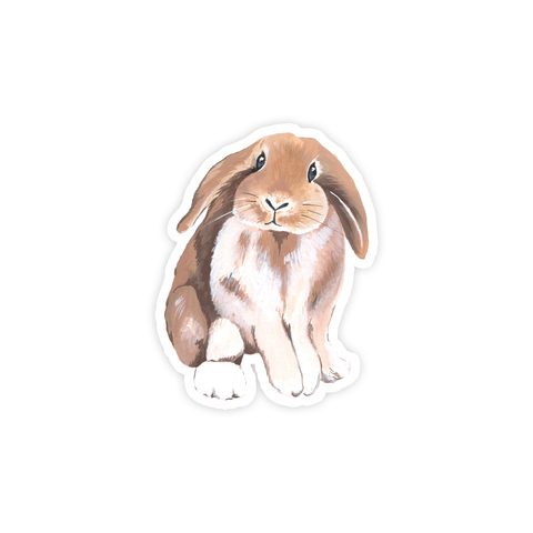 Floppy Ear Bunny Sticker