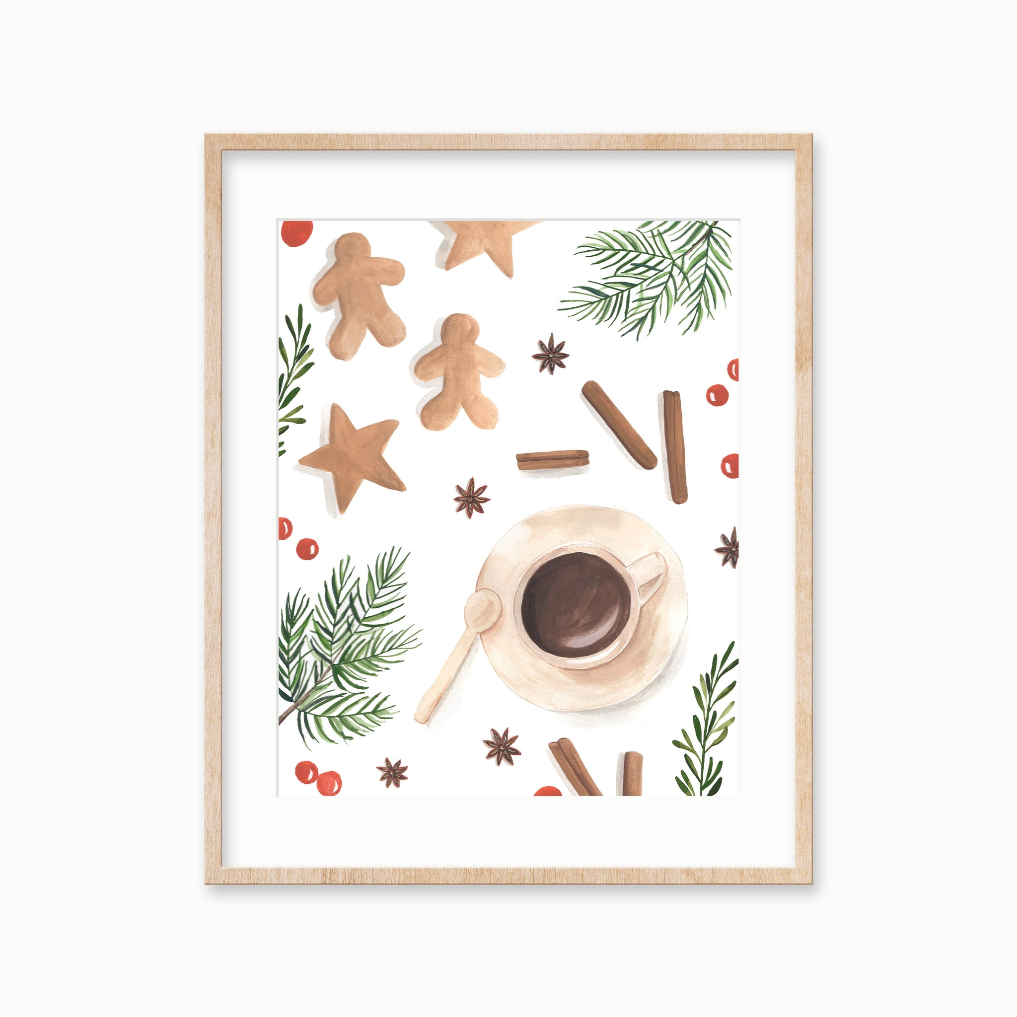 Cozy Christmas Art Print