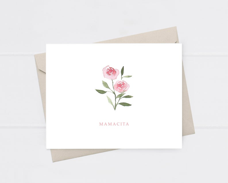 Mamacita Greeting Card