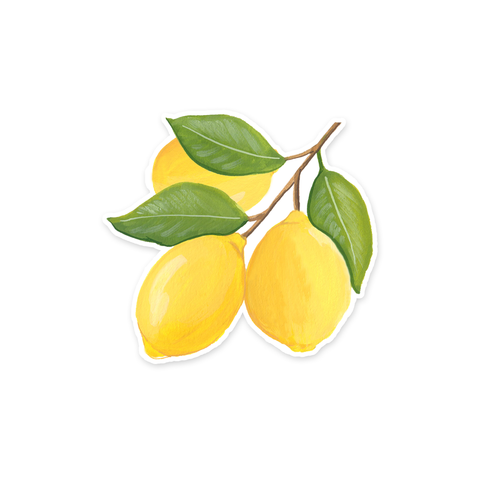 Lemon Trio Sticker