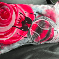Hand-painted Velvet Cushion - BooBee Collection