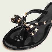 Studded Bow Flip Flop