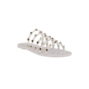 Fashion rivet flat sandals