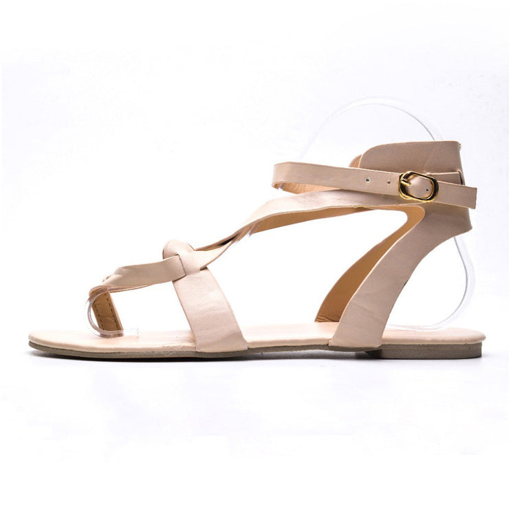 2021 Summer Outdoor Beach  Roman Sandals Women Flats