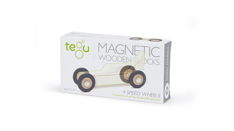 Tegu 4-Pack of Speed Wheels