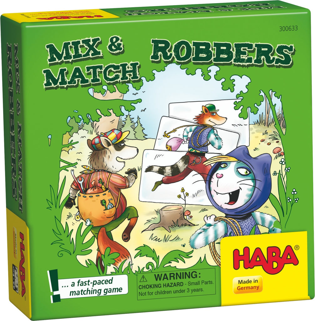 Mix & Match Robbers Mini Game