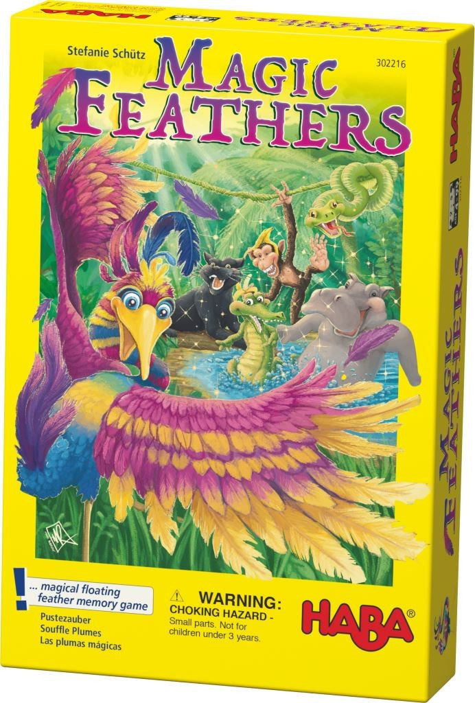Magic Feathers Magical Floating Feather Memory Game