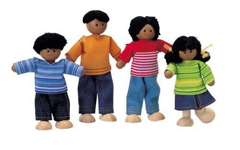 African American Doll Family