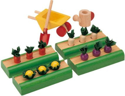 Vegetable Garden Dollhouse Accessory Set