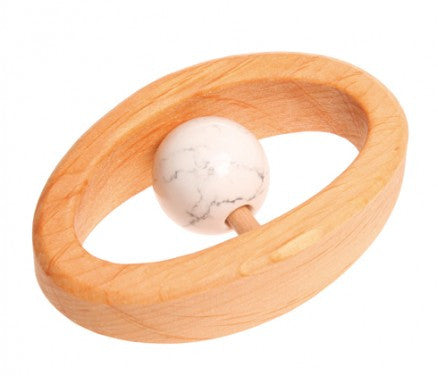 Grimm's Wooden Birthstone Clutching & Teething Toys